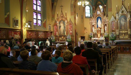 Porządek nabożeństw - kaplica